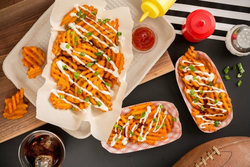 Waffle Fries بطاطس الوافل