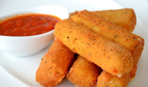 Mozzarella Sticks اصابع الموزاريلا