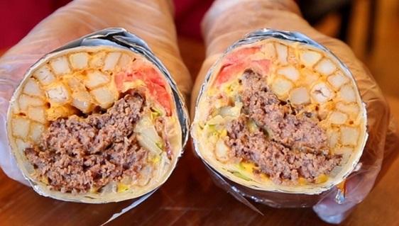 Burrito Burger برجر البوريتو